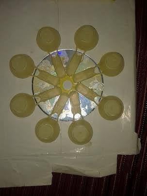 craft projects ideas the diya holder simple craft ideas 1619