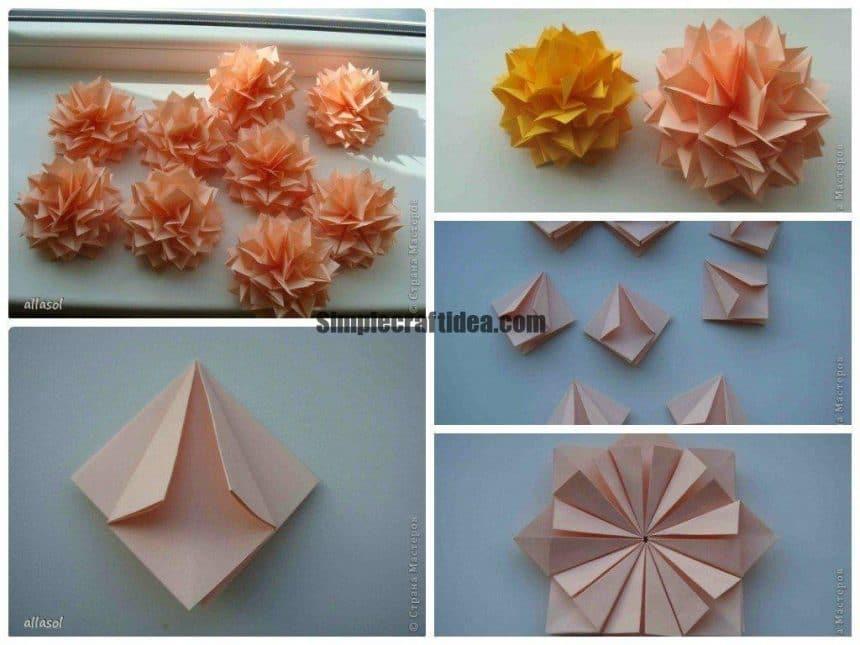 Dahlias -Easy Craft Ideas