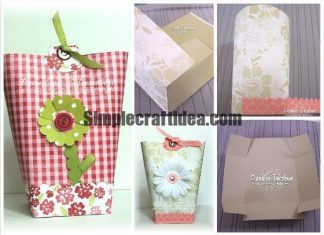 Gift bags from scrap