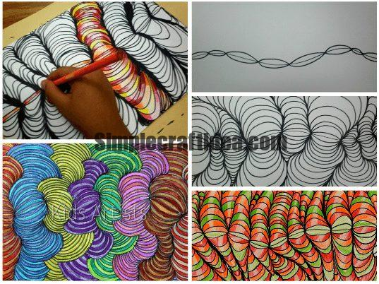 How to draw a wavy pattern