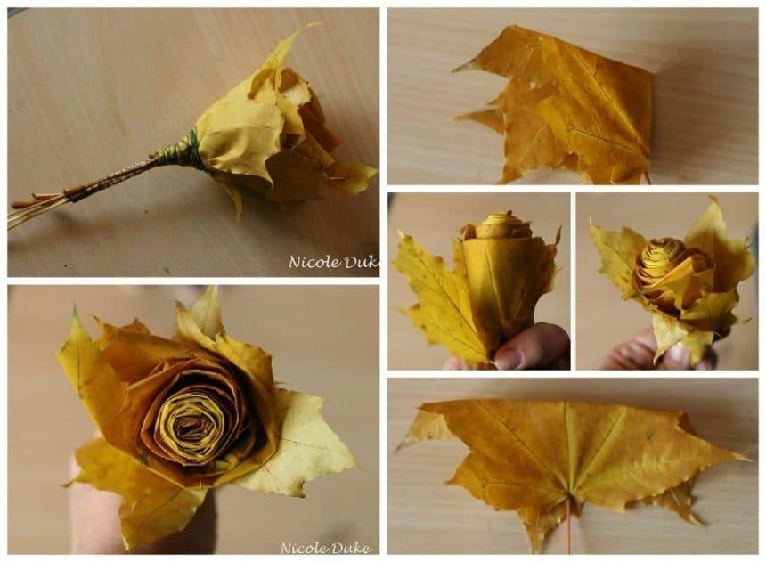 Manufacture of autumn roses