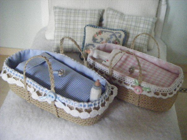 baskets of canvas