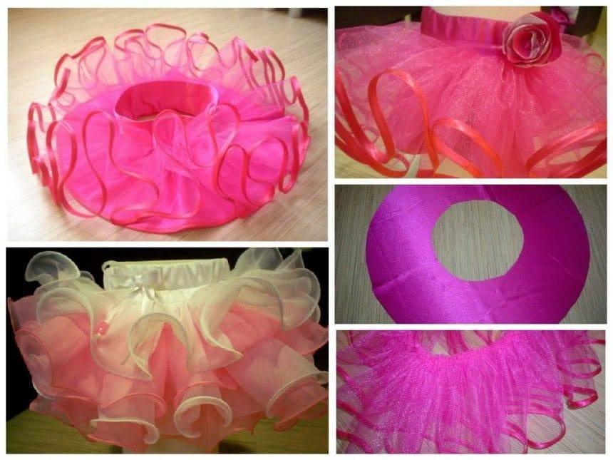 Making a fluffy skirt