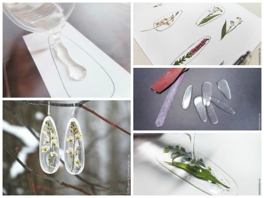 creation of transparent Jewellery