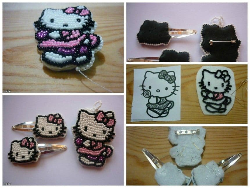 Kitty bead for girls