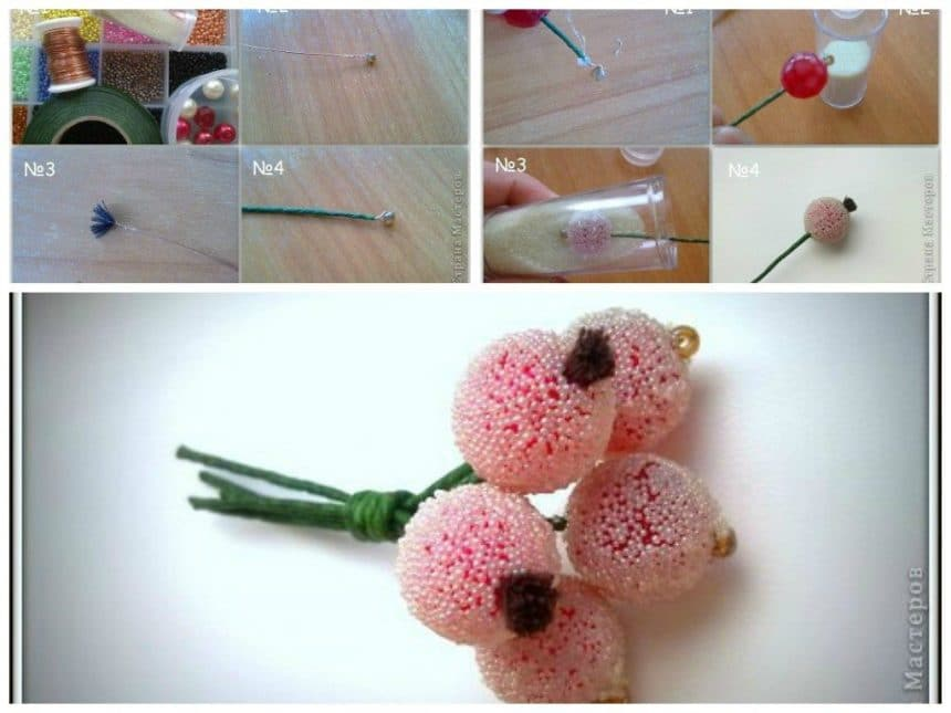 Sprig with berries for decoration