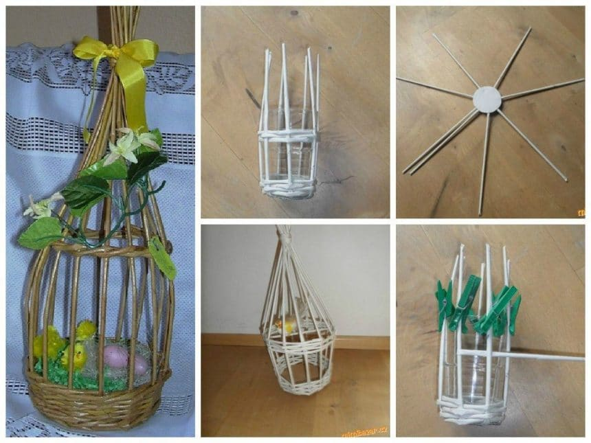 Easter cage for birds