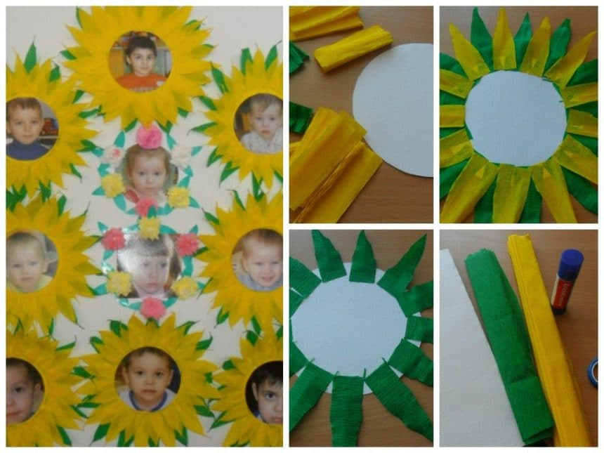 Sunflower good memories frame