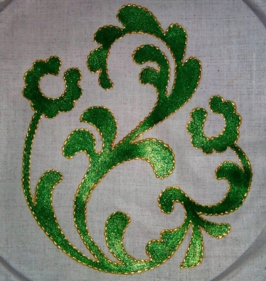 Liquid Embroidery Simple Craft Ideas