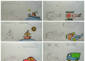 How to draw vehicles