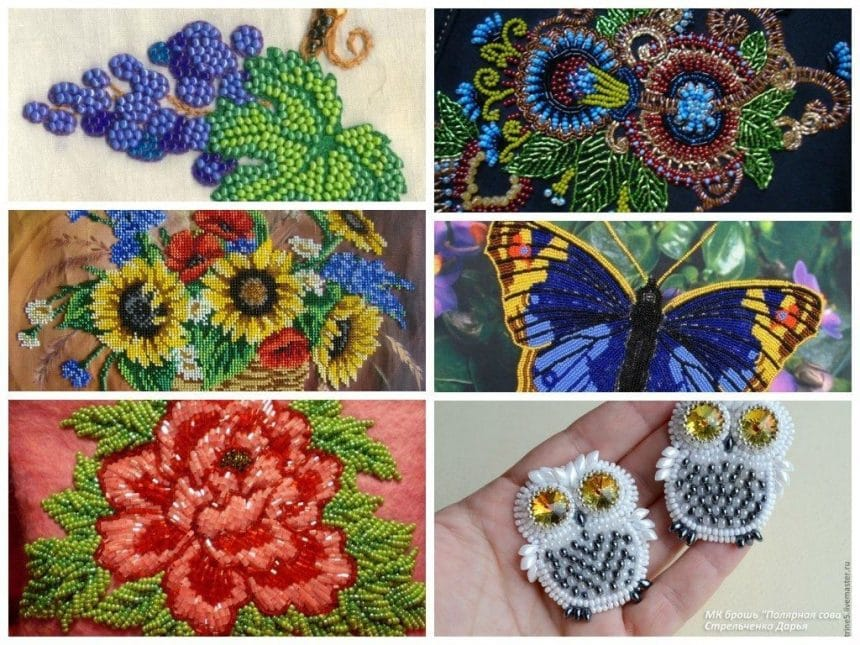 Learn to embroider with beads