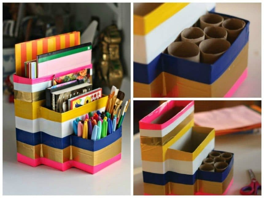 Colourful organizer