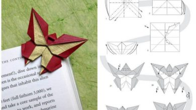 Butterfly in the art of origami