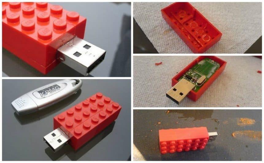 How to make a lego-memory stick