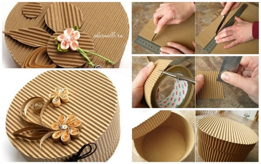 Round box making