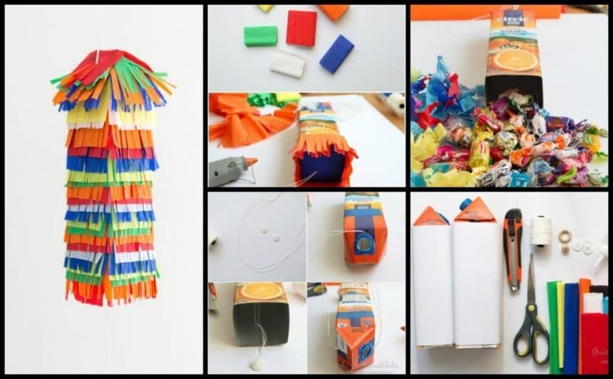 Piñatas colorful and fun