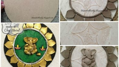 Learn to make a clay mural