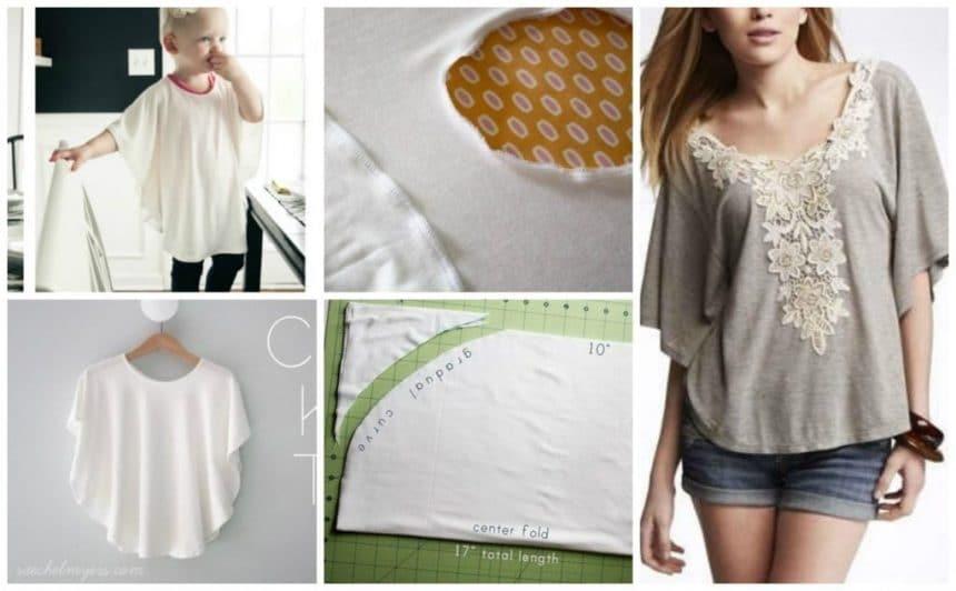 Circle knit shirt