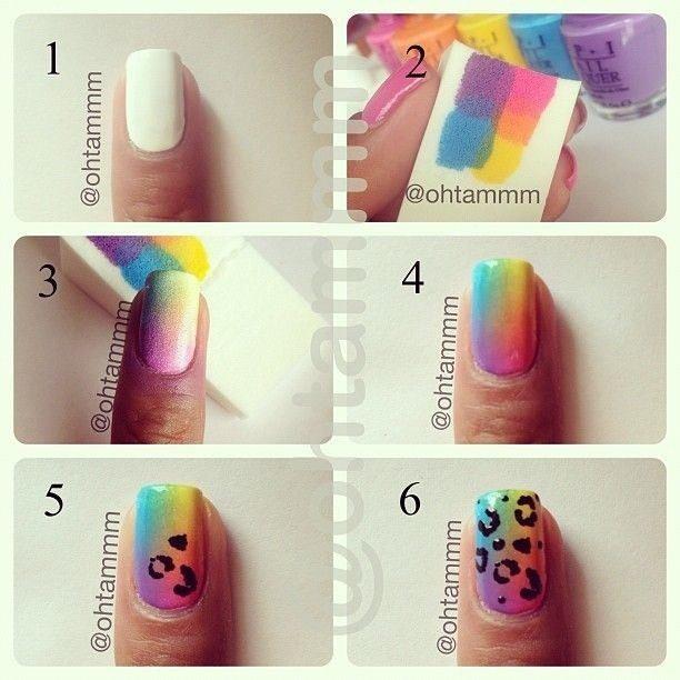 123100-Diy-Rainbow-Leopard-Nail-Art-Tutorial