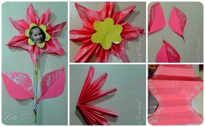 How to make scarlet flower