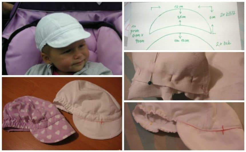 How to sew a summer hat for a boy