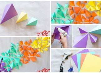 Paper wall decorations