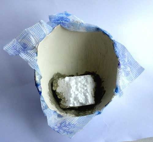 how to make hard foam