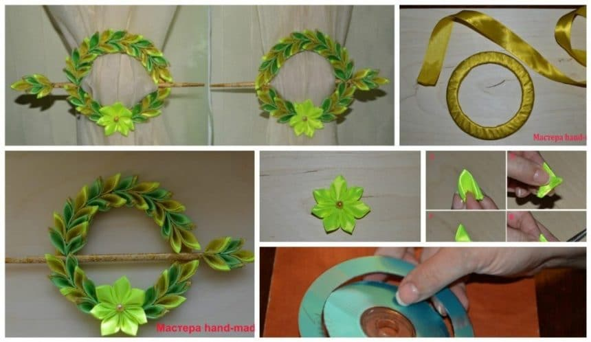 How to make tiebacks from CD