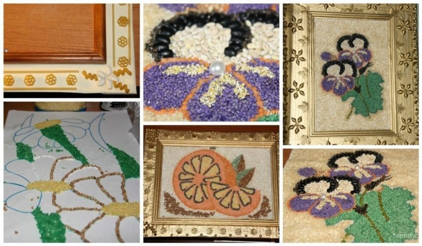 Paintings of cereals