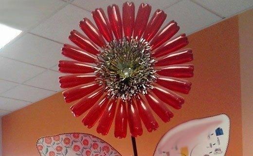 How to make plastic bottles flower tree