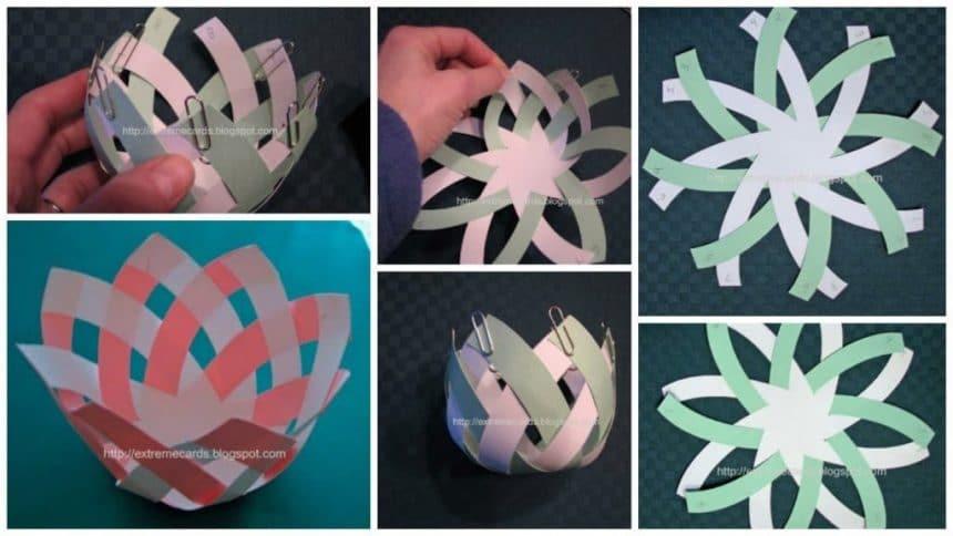 How to make lotus bowl