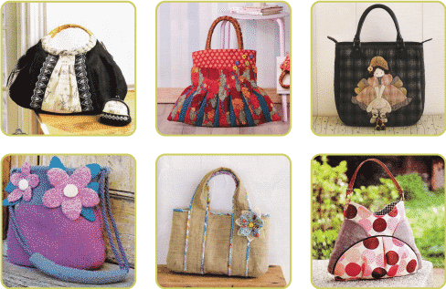 Fabric Handbags Stylish