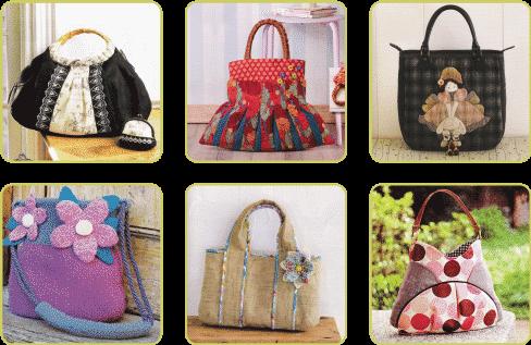 Fabric Handbags,Stylish Handbags