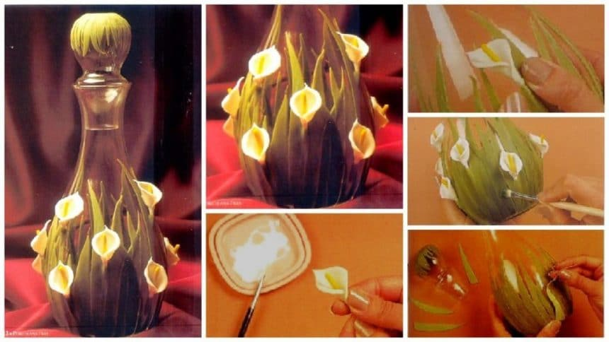 How to make 'flower vase'