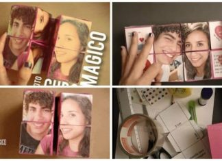 How to make Photo Magic Cube Easy Craft Ideas