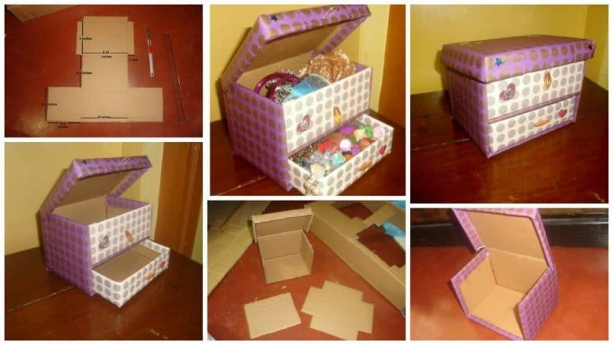 Cardboard Accessory Box