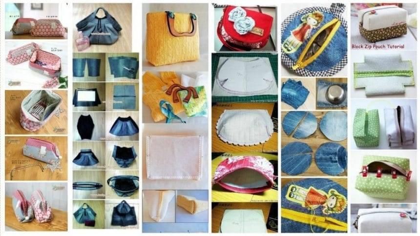 How to Make Stylish Fabric Handmade bags