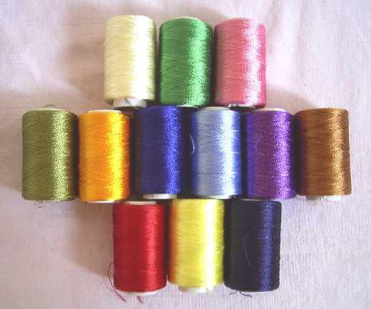 Basic Tutorial Of Silk Thread Bangle Making Simple Craft