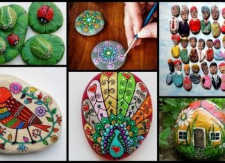 Tips for painting stones Easy Craft Ideas