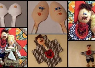 How to make doll from a plastic spoon