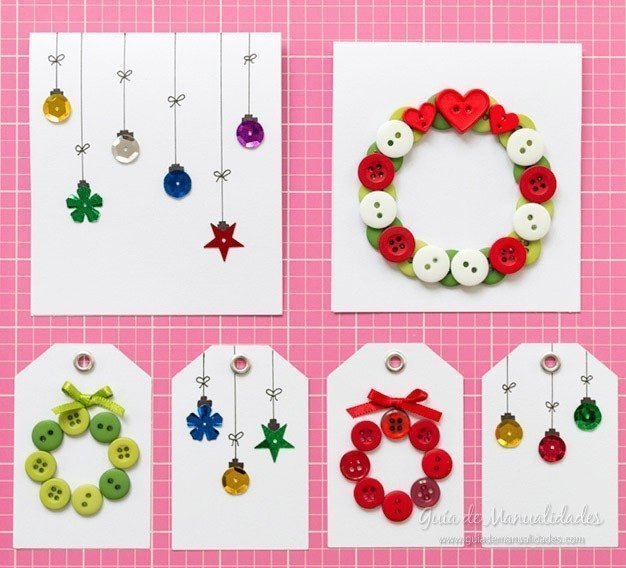 How to make Christmas cards and labels in minutes