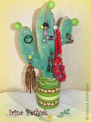 cactus shaped jewellery organizer(137)