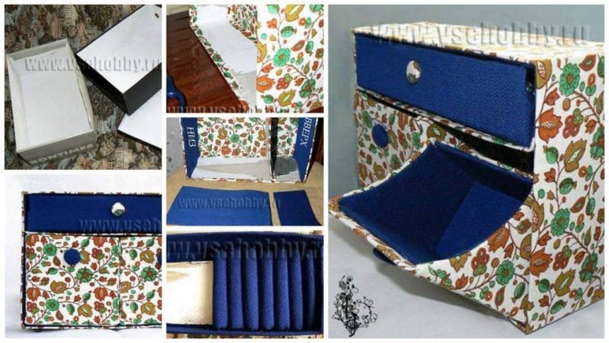 How to make a chest of drawers
