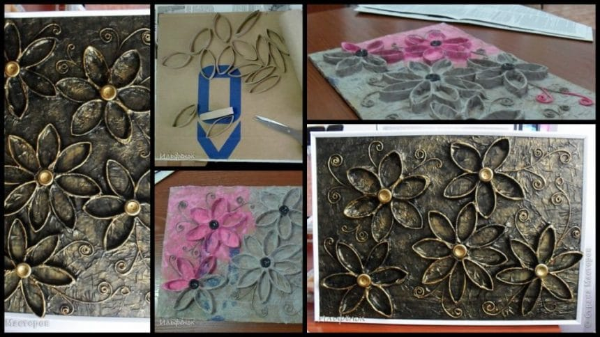 How to make flower panel