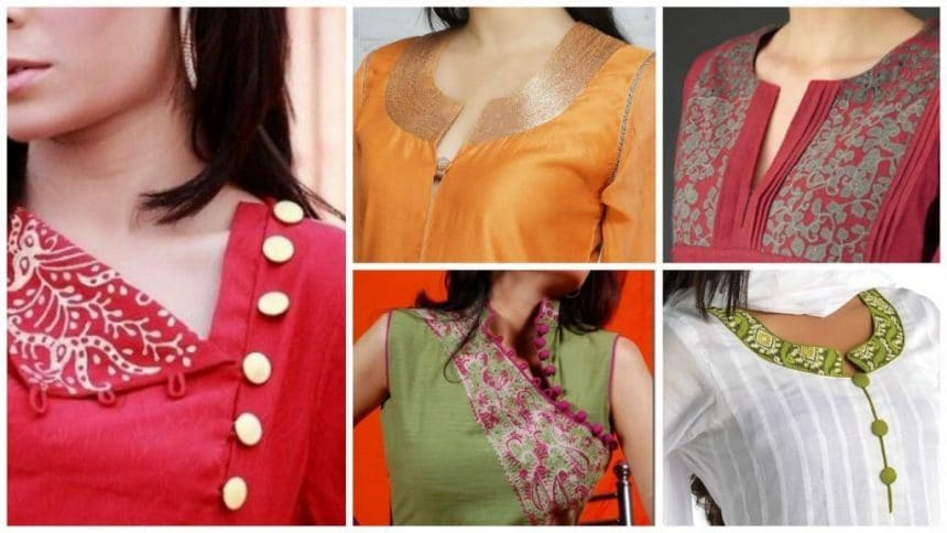 All about necklines