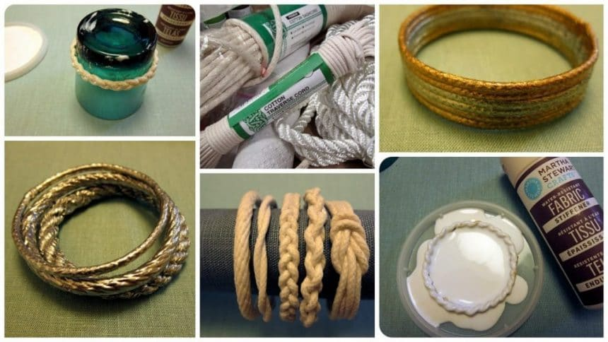 How to make rope bracelet