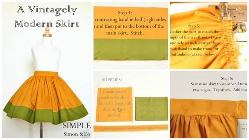 How to make skirt of christmas