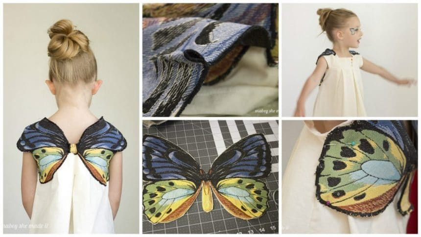 How to make butterfly dress