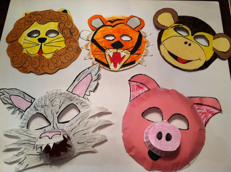 How to make animal mask for kids- Simple Craft Ideas - Simple Craft ...