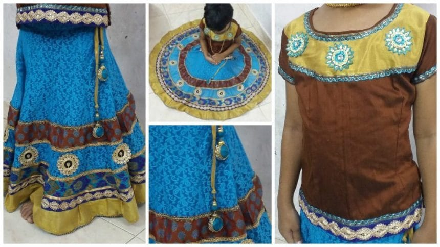 circle skirt lehenga